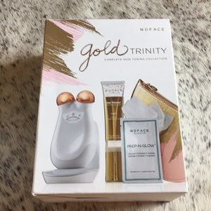 NIB Sealed!! NuFace Gold Trinity Collection FULL